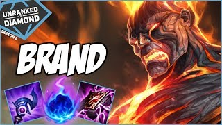 THE ADVENTURE BEGINS ON BRAND - Unranked to Diamond - Ep. 1 | League of Legends