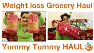 Weight loss grocery Haul, वजन घटाने के लिए स्वस्थ फल और सब्जी, Detox food haul, healthy Food ideas thumbnail
