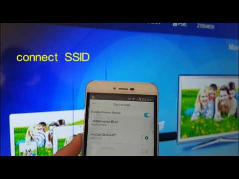 Anycast instruction of android miracast