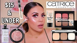 FULL FACE USING ONLY CATRICE! DRUGSTORE MAKEUP UNDER $15   JuicyJas