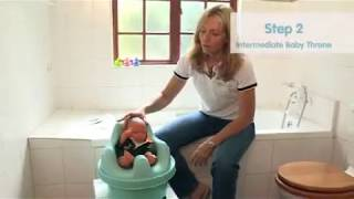 Toilet Training & Elimination Communication Instructions (4m to 4yrs) using the Patented Baby Throne