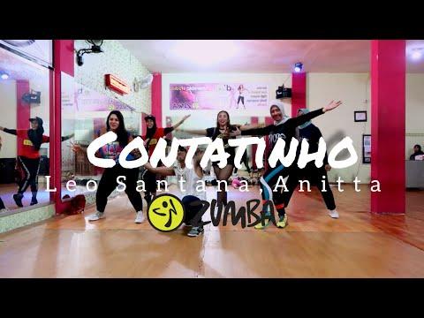 Leo Santana Anitta - Contatinho  ZUMBA  FITNESS  At D&39;One Studio Balikpapan