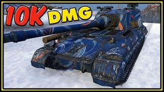 Object 268 Version 4 - 10K Damage - World of Tanks Gameplay