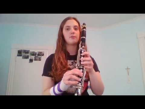 Clarinet Harmonics Demo