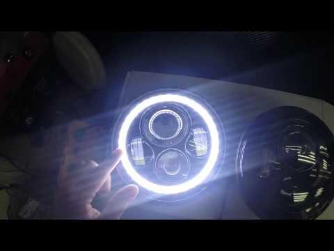 7 Inch Round Led Headlight Sealed Beam