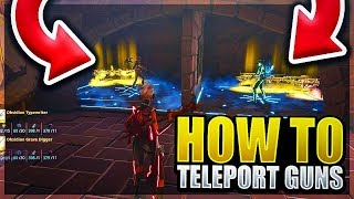 How To Teleport Guns Through Walls Scam! ( Fortnite Save the world ) Scammer Gets Scammed