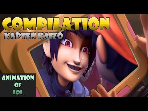 Boboiboy Parody : Kapten Kaizo - Cuci Sampai Suci Compilation