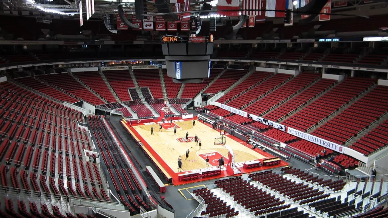 PNC Arena NC State Basketball Practice - March 6, 2013 ...