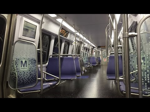 Washington Metrorail HD 60 FPS: Riding 7000 Series On Blue Line (Rosslyn to Stadium-Armory)