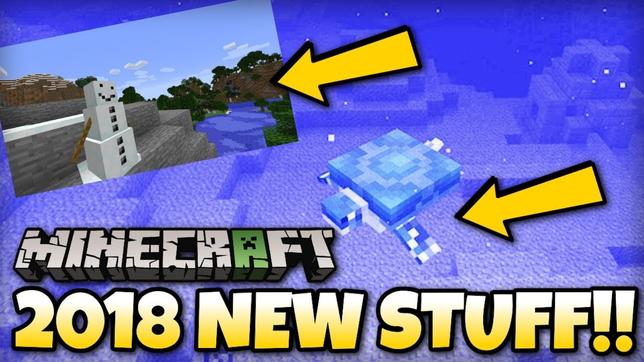 Minecraft New 2018 Features Coming Mcpe Xbox Ps4 Ps3