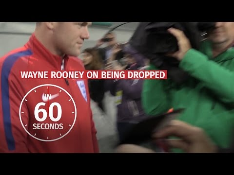 In 60 Seconds - Wayne Rooney Respects Decision To Bench England Captain