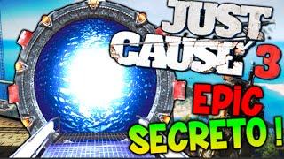 SECRETO OCULTO EN EL JUEGO !! EASTER EGG TELETRANSPORTE JUST CAUSE 3 !! STARGATE Makiman
