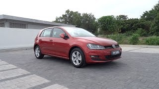 2013 Volkswagen Golf (MK7) TSI Start-Up and Full Vehicle Tour