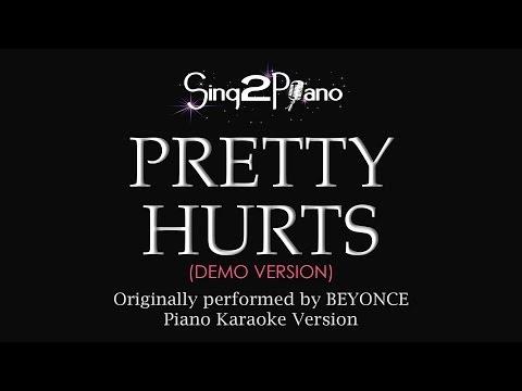 Pretty Hurts (Piano Karaoke Demo) Beyoncé
