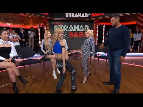 BLACKPINK On Strahan & Sara Good Moring America