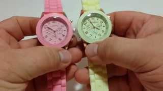 Часы китайские женские GENEWA watch geneva обзор curren