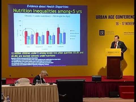 Urban Age Hong Kong'11: #61 Siddharth Agarwal Health Inequalities in India's Cities