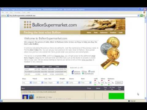 Buying Gold, Silver & Platinum Bullion Coins & Bars on eBay just got a whole lot easier