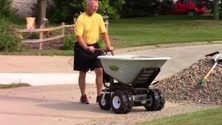 Powered Wheelbarrow Testimonial - Moving 5 Ton of Landscaping Rock
