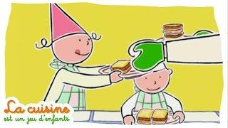 Croque Monsieur - La cuisine est un jeu d'enfants