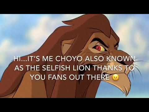 Lion King:Choyo's Story - YouTube