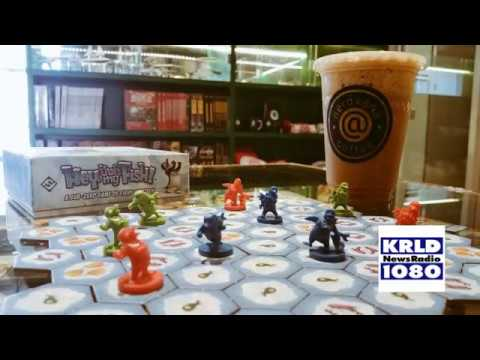 @Nerdvana Coffee Shop & Board Games - KRLD Around Town