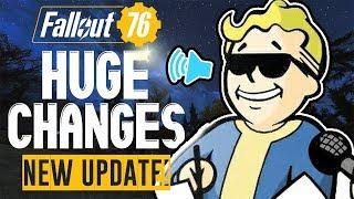 FALLOUT 76 DECEMBER CHANGES CONFIRMED: Stash Limit, FoV, Push-to-Talk, Bulldozer, Respec & More!