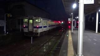 肥薩線キハ40系 隼人駅発車