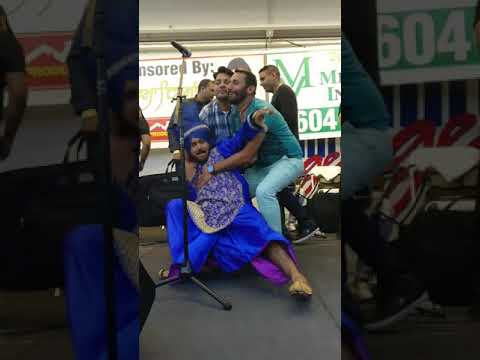 Punjabi singer not drunk hakam mela abbosford 2017
