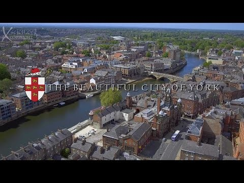 The Beautiful City of York, England
