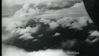 HD Historic Archival Stock Footage WWII Japanese Air Base Bombed in Philippines