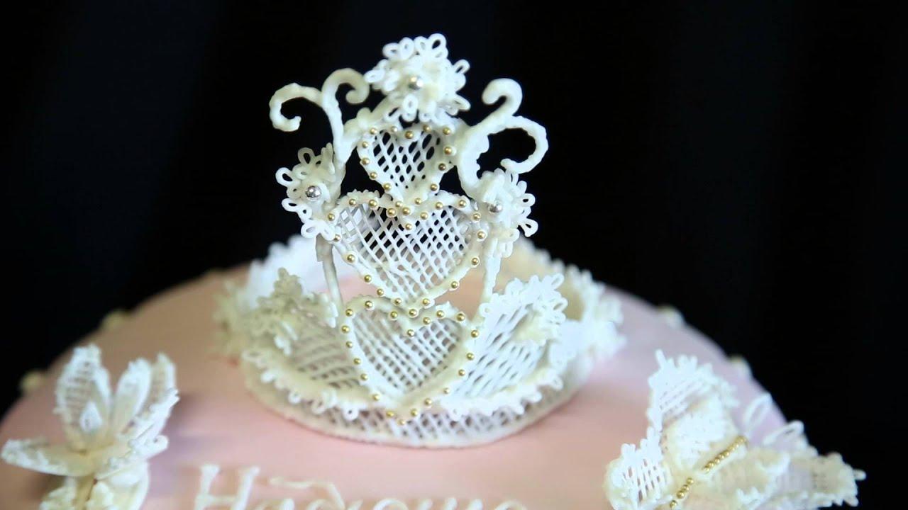 Как сделать корону из айсинга