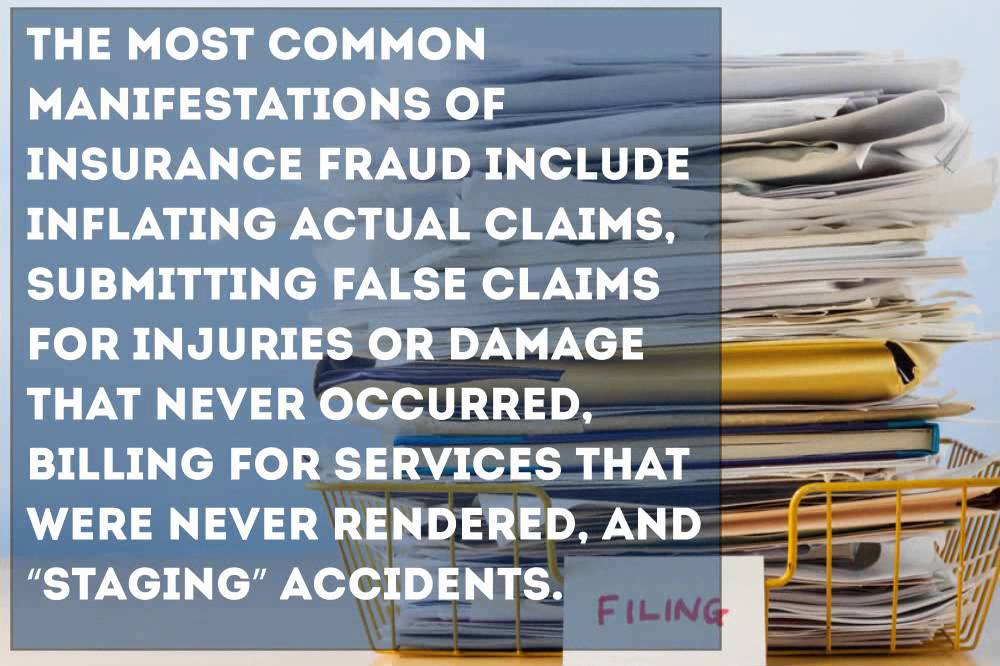 the problem of insurance fraud essay Support the health care fraud and abuse control (hcfac) program in the fy 2010 budget in addition to the increased financial support, on may 20th 2009, department of.