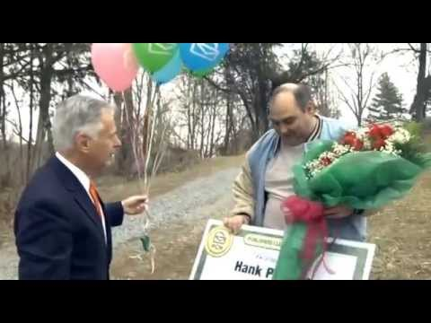 Publishers Clearing House $10,000 Winner Hank Phillips