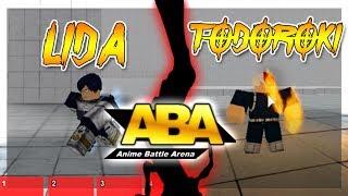New Todoroki and Lida FULL Showcase In Anime Battle Arena | Roblox | ClarkZone