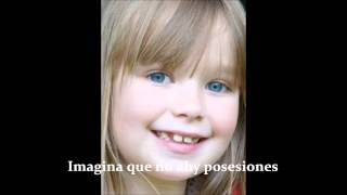 Connie Talbot- Imagine Letra español