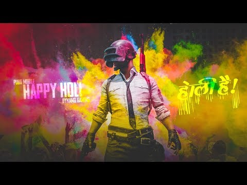 PUBG MOBILE LIVE | SEASON 6 NEW UPDATE & ROYAL PASS | HAPPY HOLI EVERYONE