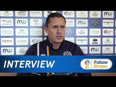 INTERVIEW | Paul Hurst pre Charlton Athletic - Town TV
