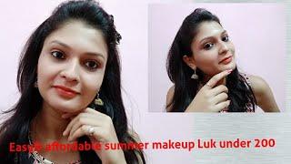 Easy summer makeup luk under 200