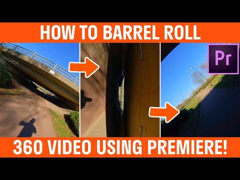 How To Barrel Roll 360 Video