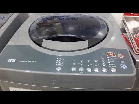 how to use IFB 6.5 kg fully automatic top load washing machine model TL-RDSS6.5KG AQUA