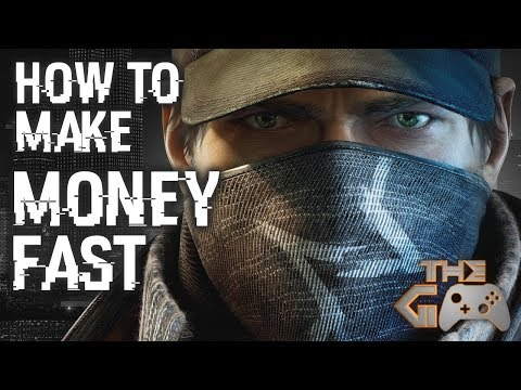 Watch Dogs - How to Make Money Fast - Rich Bank Account Locations
