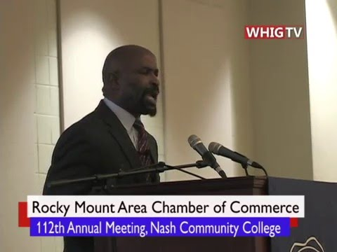 Rocky Mount Area Chamber Meeting 2016