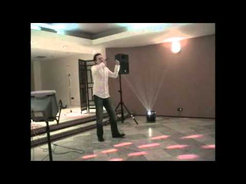 Chris White - Bed of Roses - Bader Karaoke Challenge Grand Final in Morocco December 2003