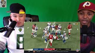 Cowboys vs Falcons | Reaction | NFL Week 10 Game Highlights