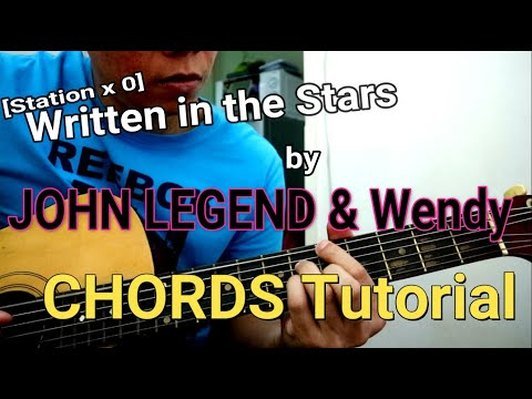 Written in the Stars by John Legend & Wendy Chords - Guitar Tutorial