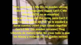 2pac can t c me subtitulada en espaol