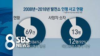 사망사고 92% '태안 화력'…사망자 4명 고의 누락 의혹 / SBS