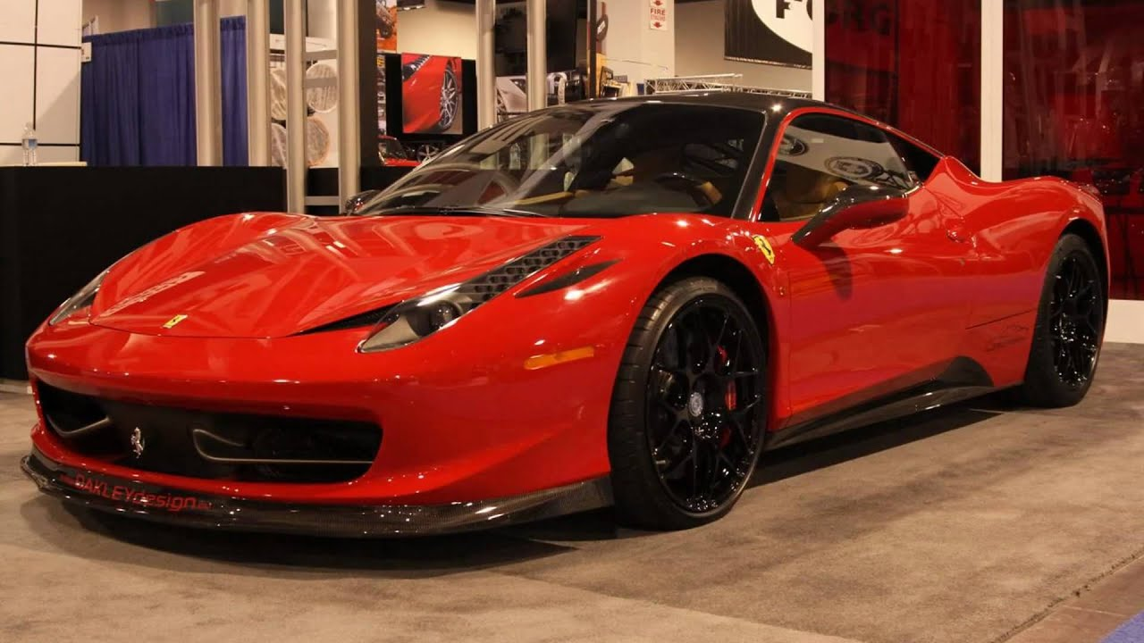 2010 Oakley Design Ferrari 458 Italia With Hre Wheels At