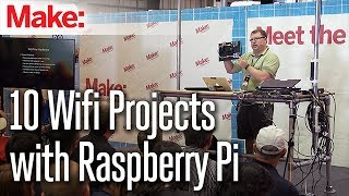 10 Wifi Projects with Raspberry Pi - Andrew Naylor